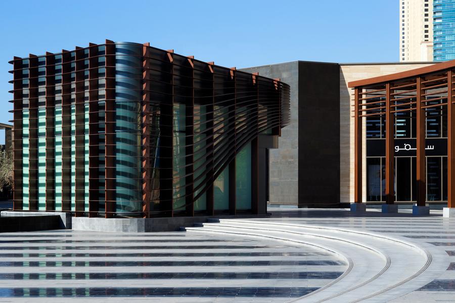 The Beach Dubai Public Realm Executive Architecture