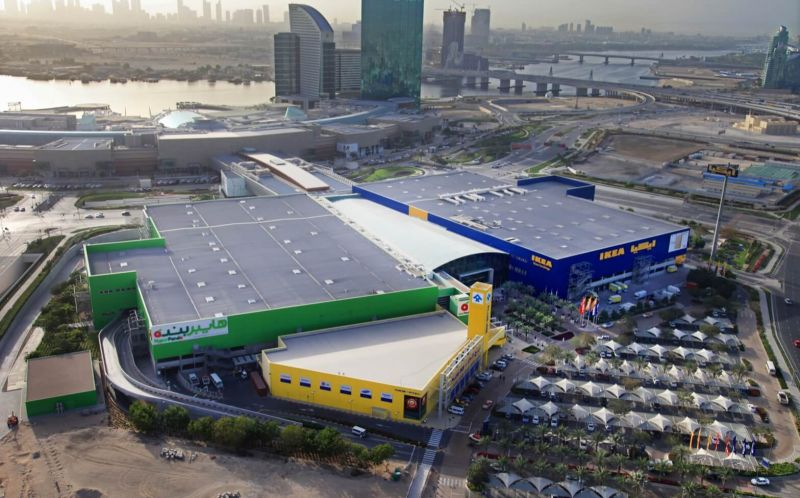Delivery of the UAE's first IKEA
