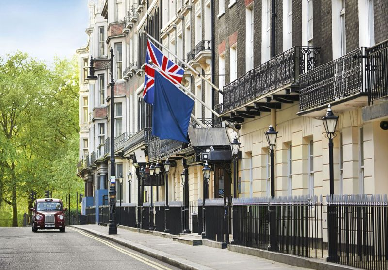 Work starts on Green Park Hotel in London