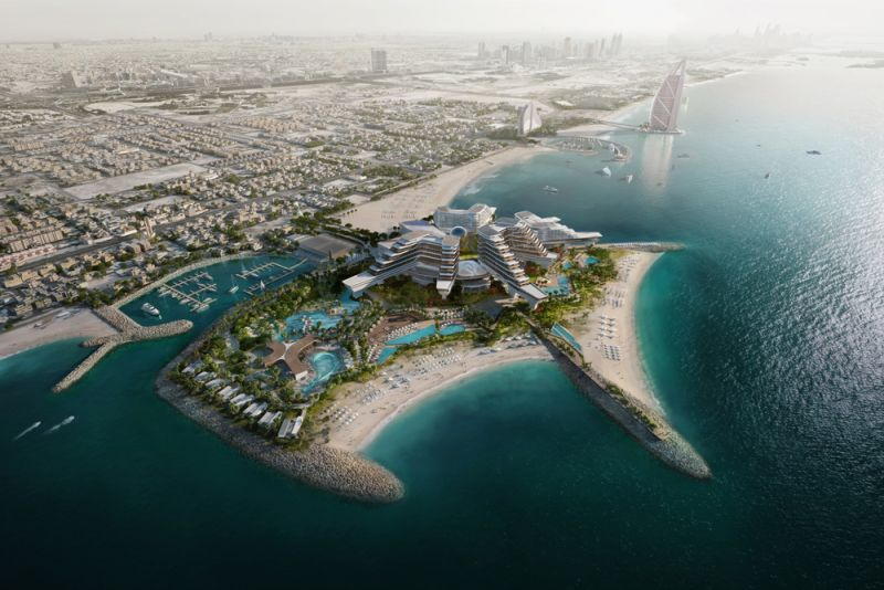 Work begins on The Island in Dubai