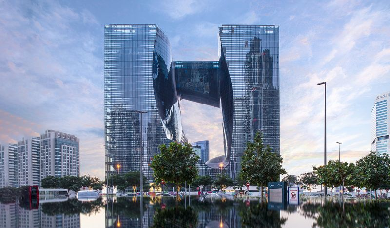 The Opus by Zaha Hadid is officially unveiled