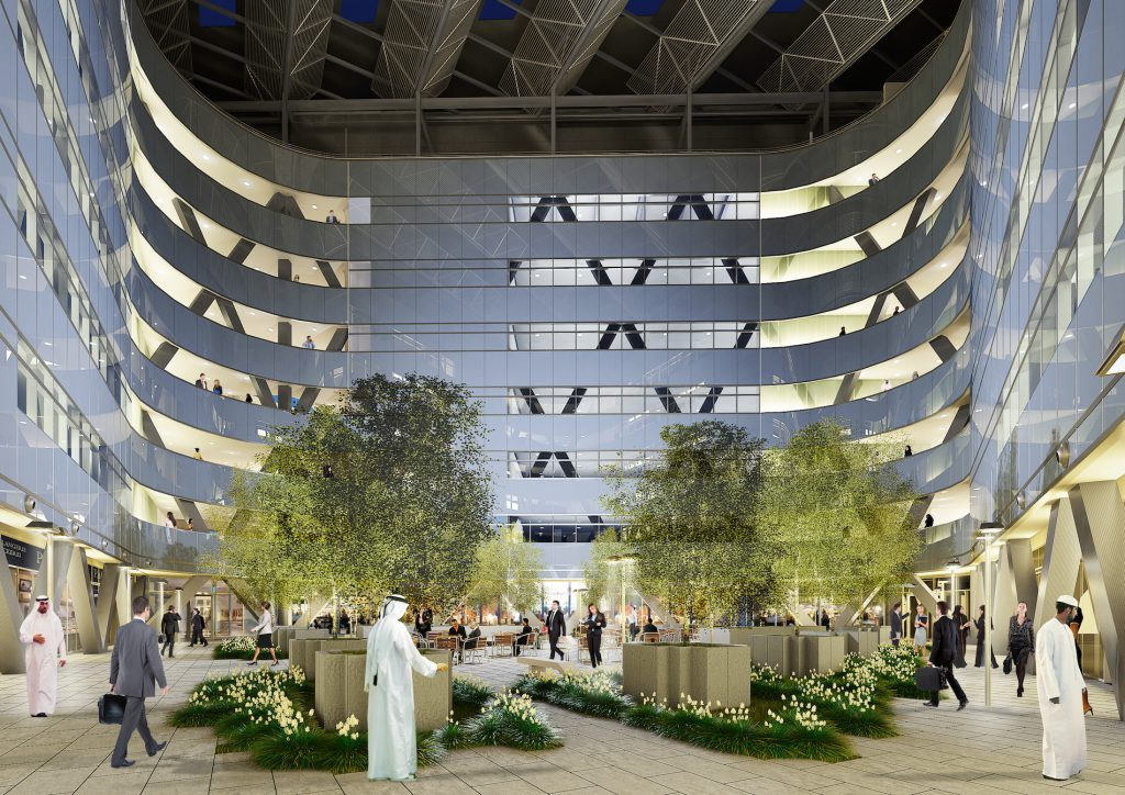 Masdar Hq is an example of how the carbon footprint of buildings can be lowered