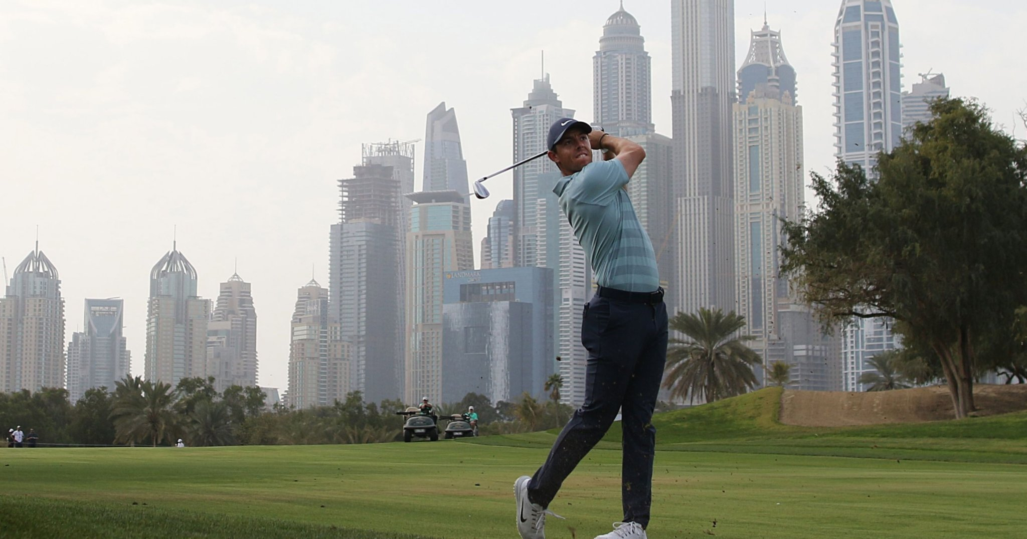 McIlroy at Emirates Golf Club Dubai