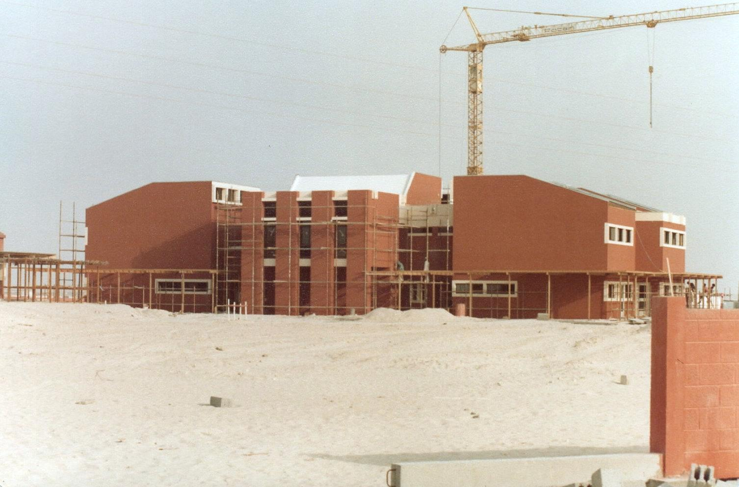 Dubai College D Block Construction