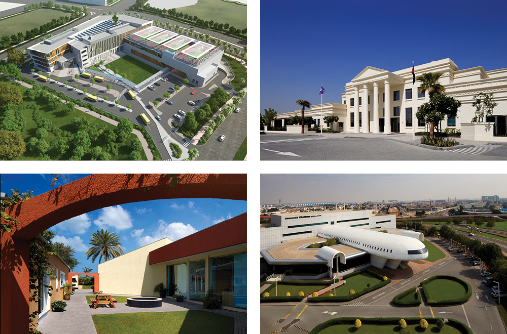 BSBG education projects in the UAE