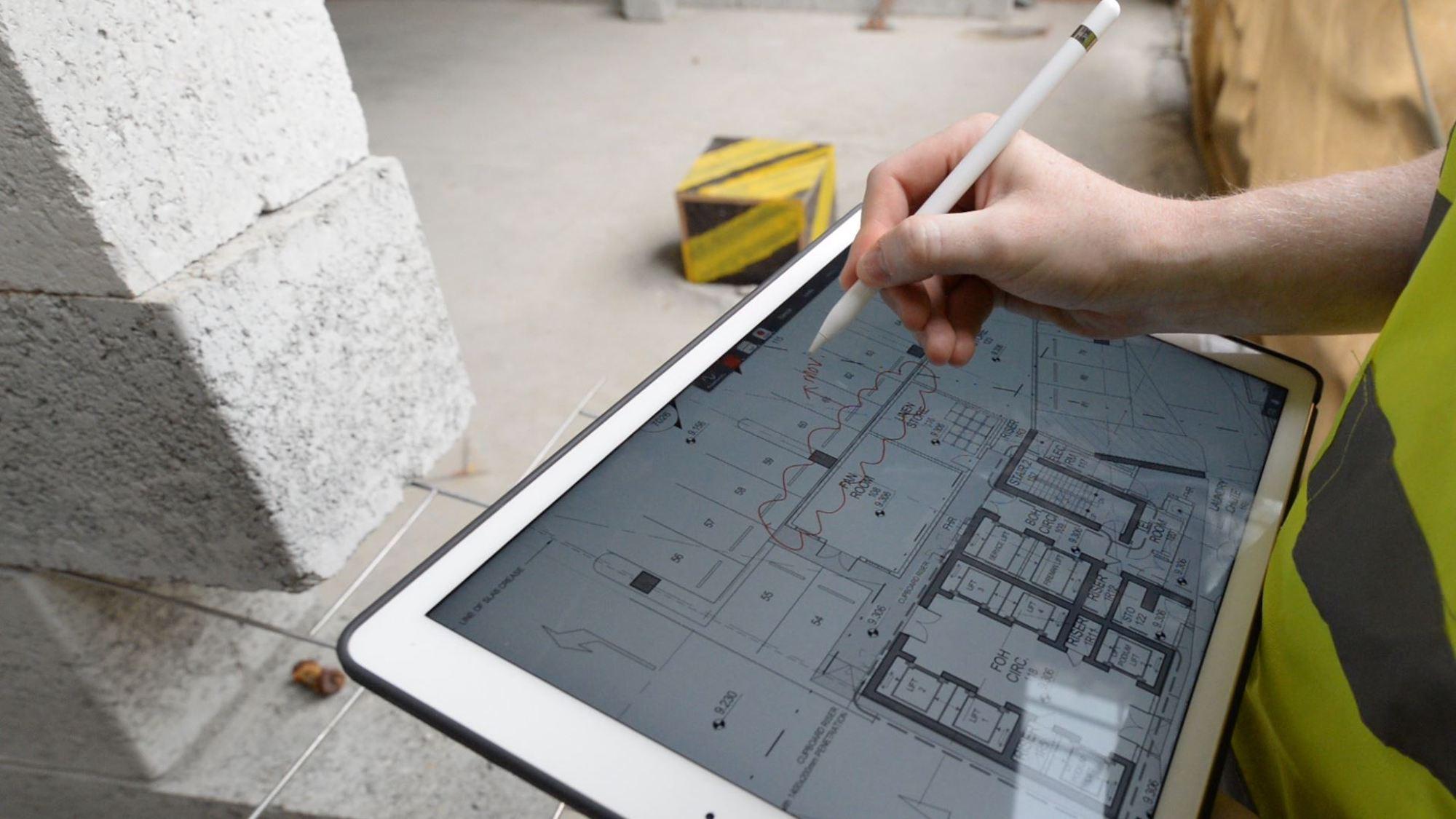 BIM for Contractors iPad markups