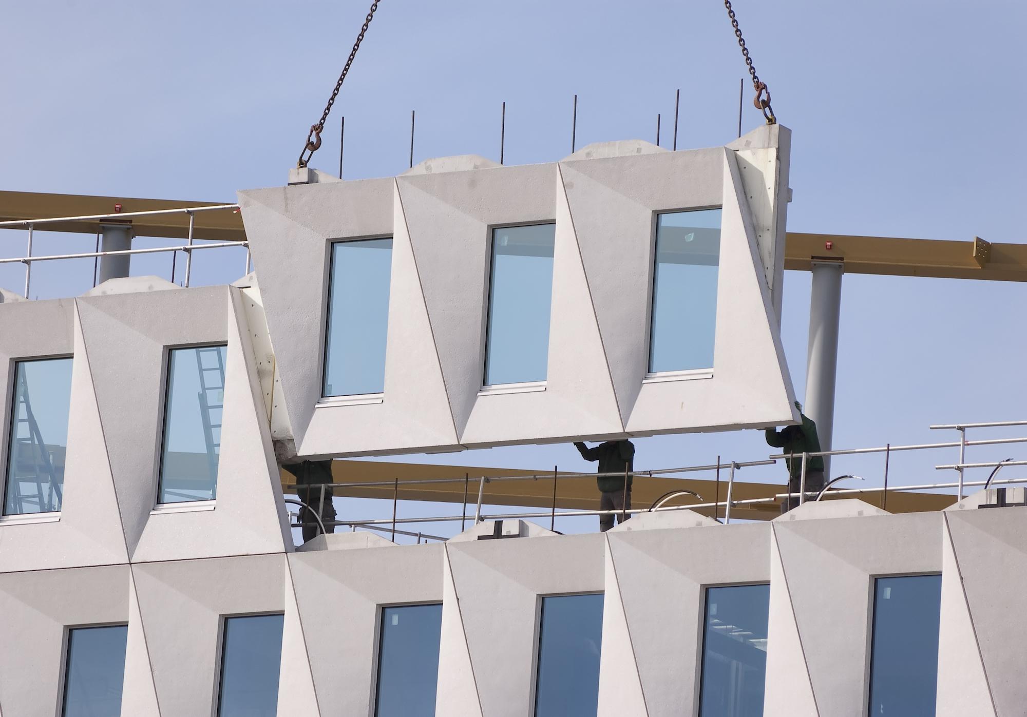 Prefab facade BIM for contractors