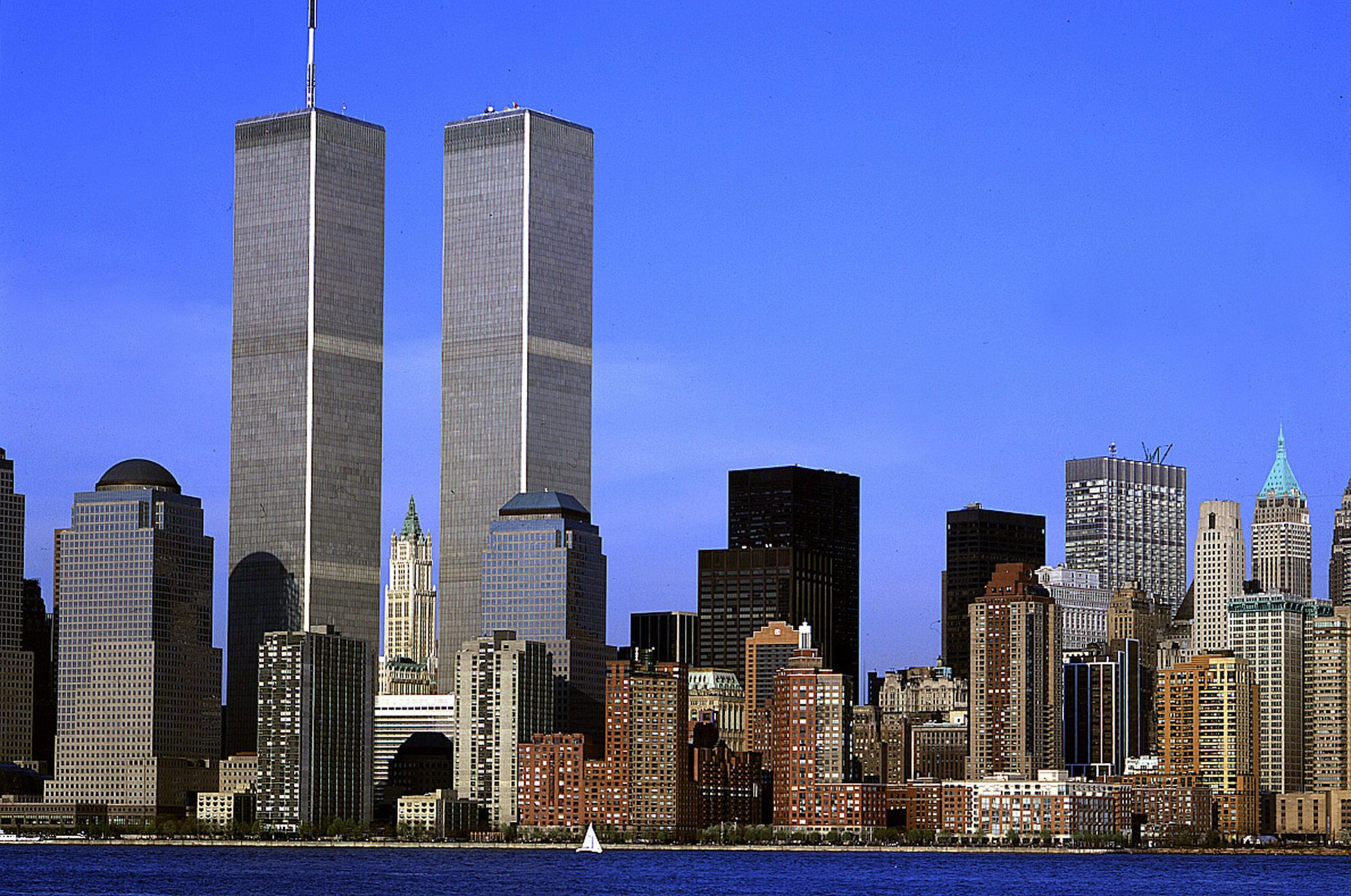 The Twin Towers suffered progressive collapse