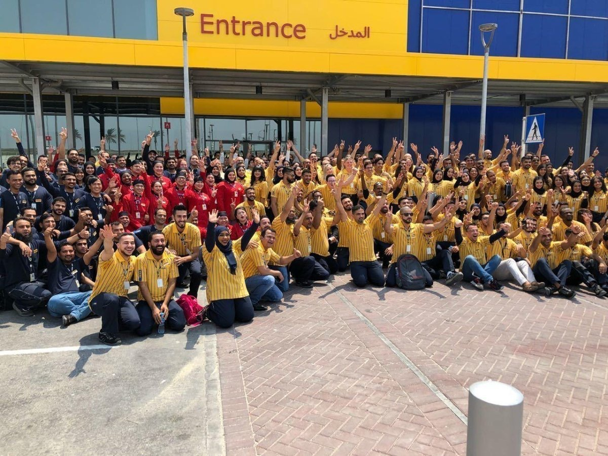 IKEA Bahrain staff