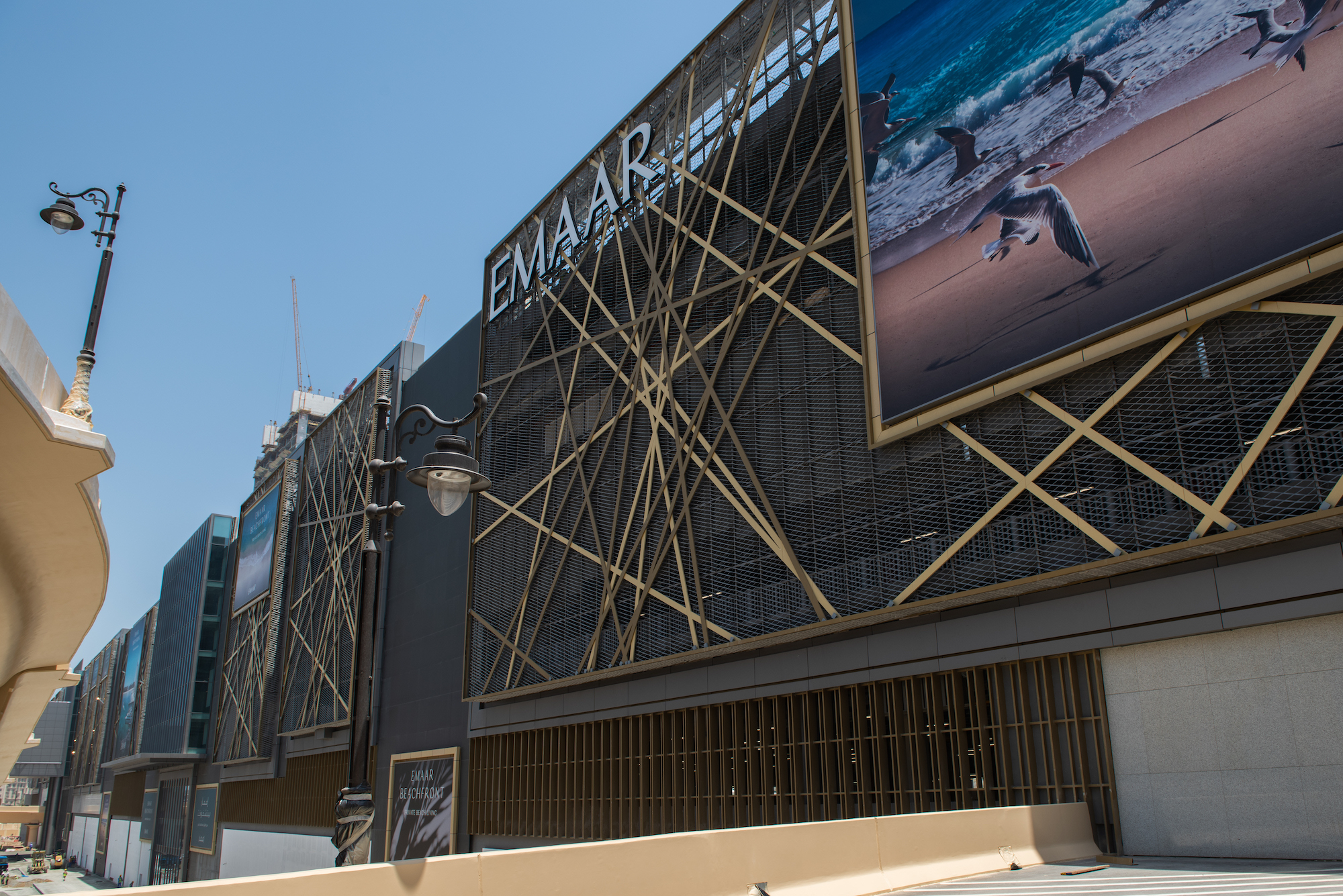 Dubai Mall Expansion exterior façade shot