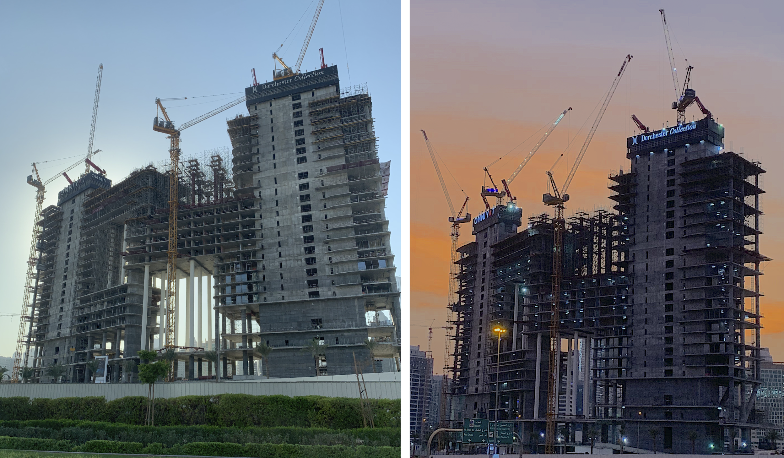 Construction Update - Dubai Architecture